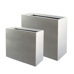 Metal planters metal plant pots dubai uae gover for Cubicle planter box